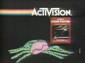 1983 - Activision Spider Fighter