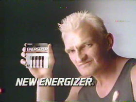 1987 - Eveready Energizer - Jacko